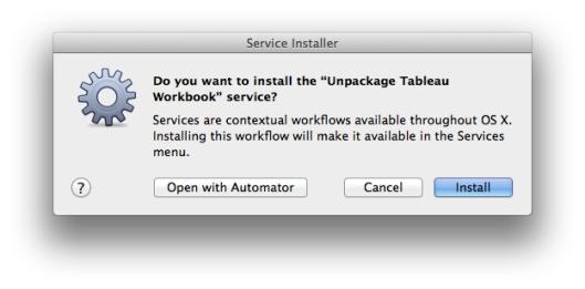 service installer